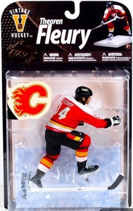 McFarlane Toys NHL Sports Picks Legends Series 8 Action Figure Theo Fleury (Calgary Flames) Red Jersey