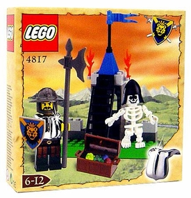LEGO Knights Kingdom Exclusive Chrome Knight Series Set #4817 Castle Dungeon
