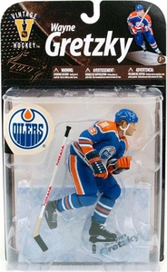 McFarlane Toys NHL Sports Picks Legends Series 8 Action Figure Wayne Gretzky (Edmonton Oilers) Blue Jersey