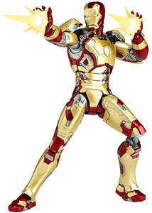 Iron Man Revoltech Sci-Fi Super Poseable Action Figure Iron Man [Mark 42] Pre-Order ships August