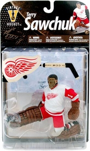 McFarlane Toys NHL Sports Picks Legends Series 8 Action Figure Terry Sawchuk (Detroit Red Wings) White Jersey