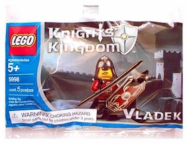 LEGO Knights Kingdom Mini Figure Set #5998 Vladek [Bagged]