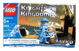 LEGO Knights Kingdom Mini Figure Set #5999 Jayko [Bagged]