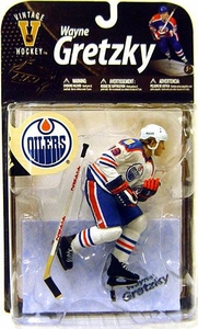 McFarlane Toys NHL Sports Picks Legends Series 8 Action Figure Wayne Gretzky (Edmonton Oilers) White Jersey Variant