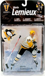McFarlane Toys NHL Sports Picks Legends Series 8 Action Figure Mario Lemieux (Pittsburgh Penguins) White Jersey Variant