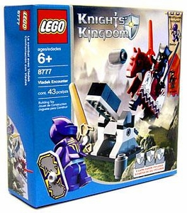 LEGO Knights Kingdom Set #8777 Vladek Encounter