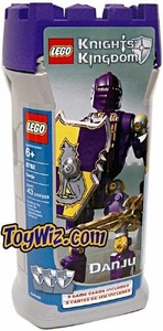 LEGO Knights Kingdom Series 1 Action Figure Set #8782 Danju [Purple]