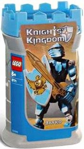 LEGO Knights Kingdom Series 1 Action Figure Set #8783 Jayko [Blue]