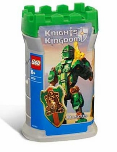 LEGO Knights Kingdom Series 1 Action Figure Set #8784 Rascus [Green]