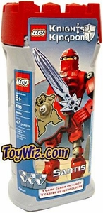 LEGO Knights Kingdom Series 1 Action Figure Set #8785 Santis [Red]
