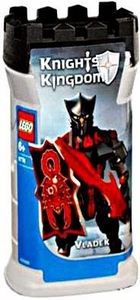 LEGO Knights Kingdom Series 1 Action Figure Set #8786 Vladek [Black]