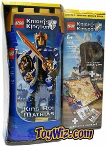 LEGO Knights Kingdom Exclusive Action Figure Set #8809 King Mathias