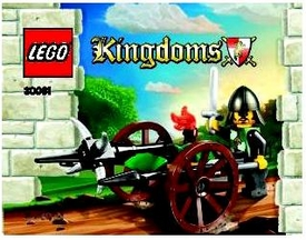 LEGO Knights Kingdom Set #30061 Siege Cart [Bagged]