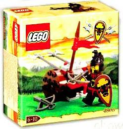 LEGO Knights Kingdom Set #4806 Axe Cart
