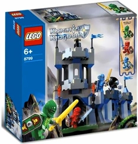 LEGO Knights Kingdom Set #8799 Knight's Castle Wall [Minor Shelf Wear, Mint Contents]