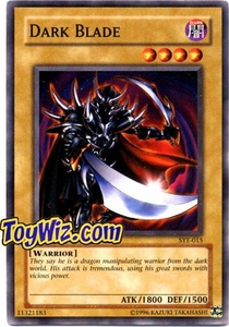 YuGiOh American Yugi Evolution Deck Single Cards SYE-015 Dark Blade