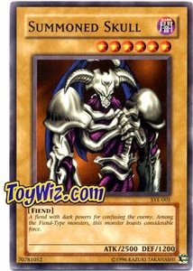 YuGiOh American Yugi Evolution Deck Single Card SYE-005 Summoned Skull