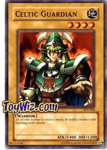 YuGiOh American Yugi Evolution Deck Single Cards SYE-008 Celtic Guardian