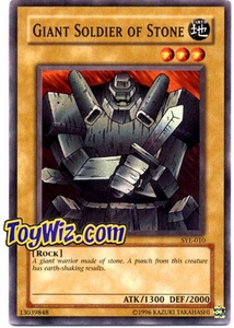 YuGiOh American Yugi Evolution Deck Single Cards SYE-010 Giant Soldier of Stone