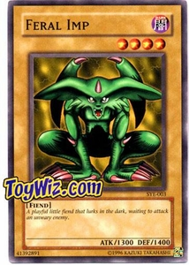 YuGiOh American Yugi Evolution Deck Single Cards SYE-003 Feral Imp