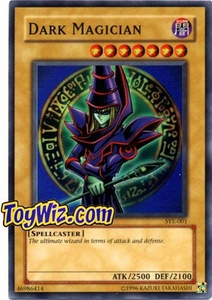 YuGiOh American Yugi Evolution Deck Single Cards Super Rare SYE-001 Dark Magician