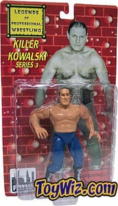 Legends of Professional Wrestling Action Figure Series 3 Killer Kowalski