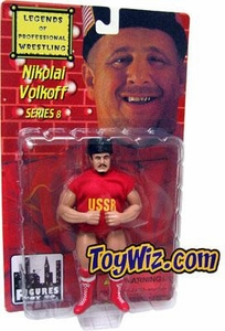 Legends of Professional Wrestling Action Figure Series 8 Nikolai Volkoff