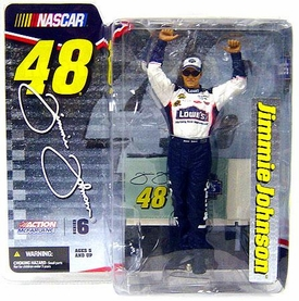 McFarlane Toys NASCAR Series 6 Action Figure Jimmie Johnson