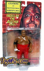 Legends of Professional Wrestling Action Figure Series 2 Abdullah the Butcher