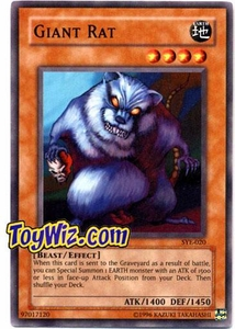 YuGiOh American Yugi Evolution Deck Single Cards SYE-020 Giant Rat