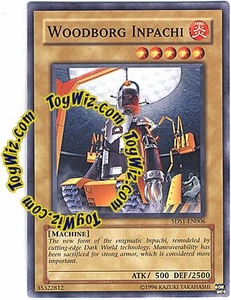 YuGiOh 5D's 2008 Starter Deck Single Card Common 5DS1-EN006 Woodborg Inpachi