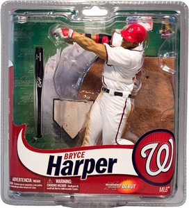 McFarlane Toys MLB Sports Picks Exclusive Action Figure Bryce Harper (Washington Nationals) White Jersey