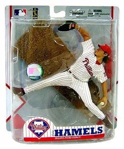 McFarlane Toys MLB Sports Picks Exclusive Action Figure Cole Hamels (Philadelphia Phillies) Home Pinstripe Uniform