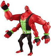 Ben 10 LOOSE 4 Inch Action Figure Omni Four Arms