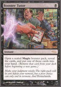 Magic the Gathering Arena Promo Card Booster Tutor [Arena Unhinged]