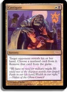 Magic the Gathering Arena Promo Card Castigate [Arena 2006]