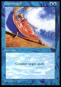 Magic the Gathering Arena Promo Card Counterspell [Arena 1996]
