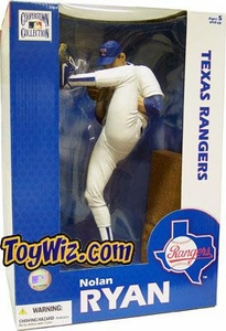 McFarlane Toys MLB Sports Picks 12 Inch Deluxe Action Figure Nolan Ryan (Texas Rangers)