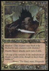 Magic the Gathering Arena Promo Card Dauthi Slayer [Arena 2002]
