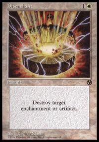 Magic the Gathering Arena Promo Card Disenchant [Arena 1996]