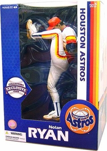 McFarlane Toys MLB Sports Picks Collector's Exclusive 12 Inch Deluxe Action Figure Nolan Ryan (Houston Astros)