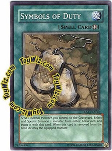 YuGiOh 5D's 2008 Starter Deck Single Card Common 5DS1-EN030 Symbols of Duty