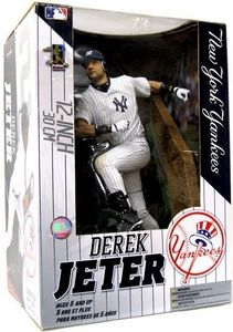 McFarlane Toys MLB Sports Picks 12 Inch Deluxe Action Figure Derek Jeter (New York Yankees)