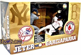 McFarlane Toys MLB Sports Picks Action Figure 2-Pack Derek Jeter (New York Yankees) & Nomar Garciaparra (Boston Red Sox)