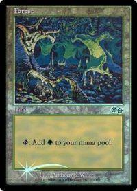 Magic the Gathering Arena Promo Card Forest [Arena 1999]