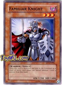 YuGiOh Movie Exclusive Pack Promo Single Card EP1-EN006 Familiar Knight