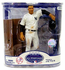 McFarlane Toys MLB Sports Picks 2008 All-Star Game Fan Fest Exclusive Action Figure Derek Jeter (New York Yankees) Only 6,000 Made!