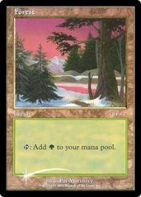 Magic the Gathering Arena Promo Card Forest [Arena 2001]