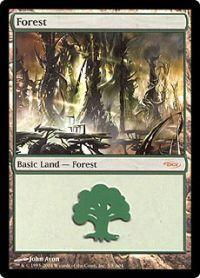Magic the Gathering Arena Promo Card Forest [Arena 2004]