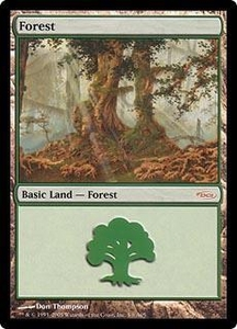 Magic the Gathering Arena Promo Card Forest [Arena 2005]